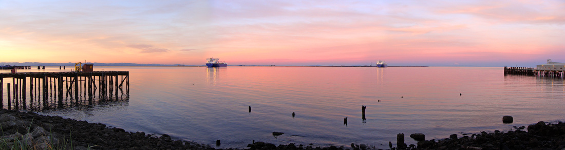Port Angeles Harbor Sunset